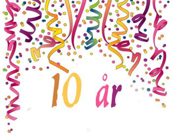 10-års jubileum 2
